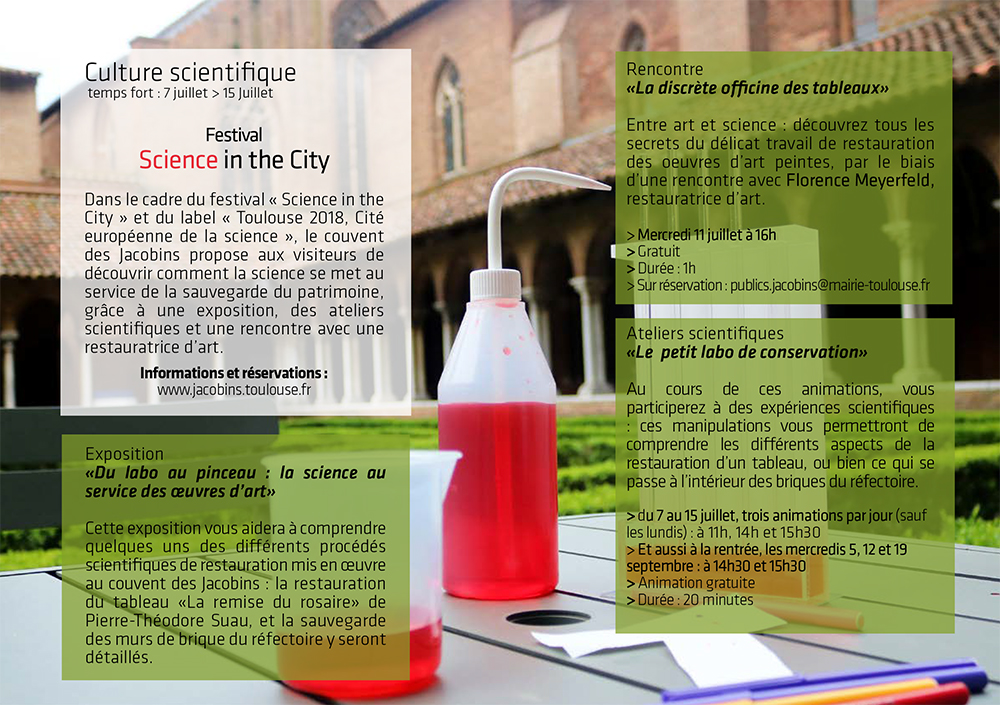 Science In The City Actualites Jacobins